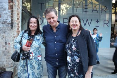 Sydney Writers Festival Sarah Mills Richard Fidler Kate Forsyth