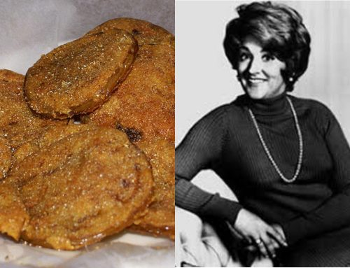 Fannie Flagg's fried green tomatoes