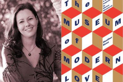 Heather Rose, Stella Prize, Word of Mouth TV, Museum of Modern Love, Kate Forsyth, book review,