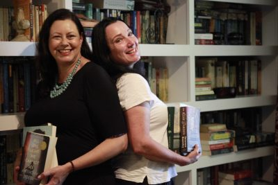 Kate Forsyth, S.L. Mills, Sarah Mills, Word of Mouth TV, library, books, authors, recommended reads