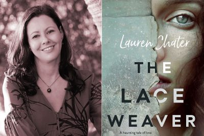 Book review, Kate Forsyth, The Lace Weaver, Lauren Chater, Word of Mouth TV, Estonia, books, food