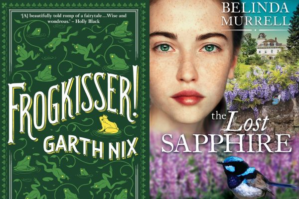Writing NSW, Garth Nix, Belinda Murrell, Frogkisser!, The Lost Sapphire, Kate Forsyth, review, book reviews, children's books, Kids & Young Adult Festival, Word of Mouth TV,