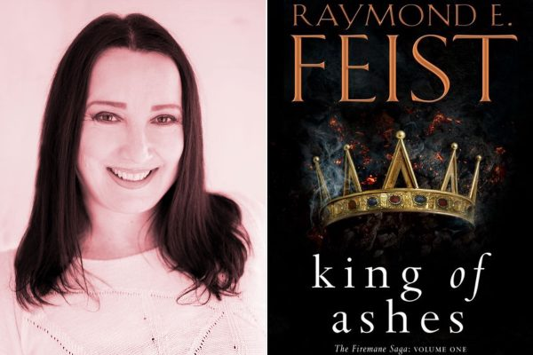 Raymond E. Feist, King of Ashes, Sarah Mills, S.L. Mills, book review, reviews, The Firemane Saga