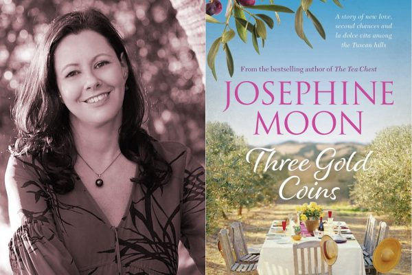 Kate Forsyth, Josephine Moon, review, book review, books, food, Word of Mouth TV, Three Gold Coins,