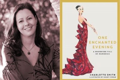 Charlotte Smith, One Enchanted Evening, book review, Word of Mouth TV, food, fashion, books, Kate Forsyth,