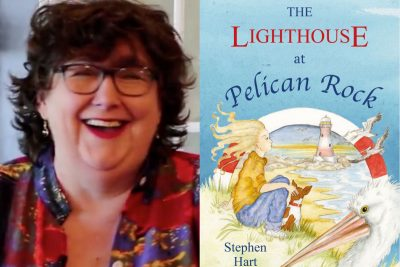Stephen Hart, Pamela Hart, The Desert Nurse, The Lighthouse at Pelican Rock, Word of Mouth TV, Recommended Reads, Kate Forsyth, S.L. Mills, Sarah Mills