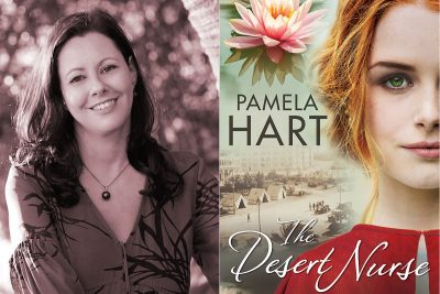 Pamela Hart, novel, The Desert Nurse, Kate Forsyth, Book review, Word of Mouth TV, food, books