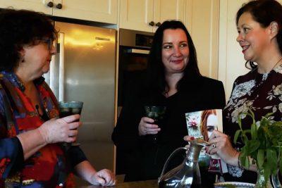 Pamela Hart, The Desert Nurse, Kate Forsyth, S.L. Mills, Sarah Mills, Q&A, author, interview, books, food, ANZAC Day