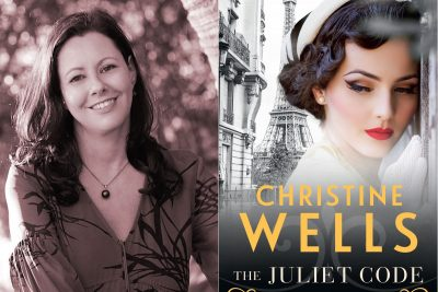 Christine Wells, The Juliet Code, Kate Forsyth, books, book review, food, Word of Mouth TV,